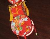 Vintage Beautiful Japanese Decorative Baby Rattle Toy