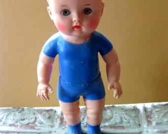 Vintage Rubber Doll, Sun Doll, 1956
