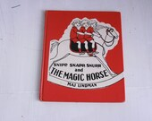 Vintage children's book Snipp, Snapp, Snurr and The Magic Horse by Maj Lindman