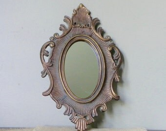 Vintage Italian mirror - florentine hollywood regency
