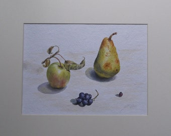 Original Watercolour Painting - Garden Harvest