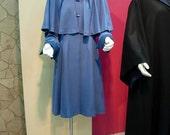 Custom made  Harry Potter Beauxbaton costume dress, caplet and hat