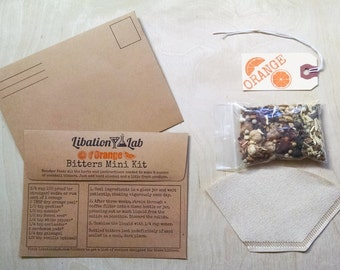Mix and Match DIY Cocktail Bitters Mini Booster Kits