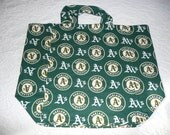 Shopping Bag with Oakland A's theme