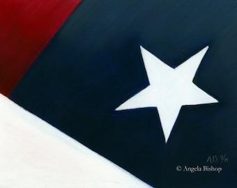 American Flag Painting, Original Painting, Patriotic, Flag, 9/11, September 11, Original Pastel, Fine Art, Realism, Remembrance IV