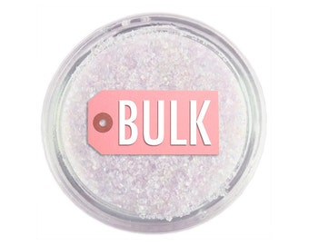 Opal Sanding Sugar BULK (1lb) - opal fine sugar for decorating cupcakes, cakes, cakepops, and cookies