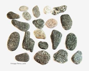 Sparkly Micha Beach Rocks, Collected Stones, Lake Ontario