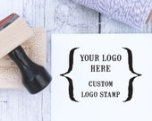 Logo Stamp, Custom Logo Stamp, Website Stamp, Custom Stamp, Custom Business Stamp, Etsy Stamp, Wooden Stamp, Rubber Stamp, Self Inking Stamp