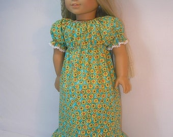 1974-1045  Granny Dress fits Julie or other 18 Inch Doll