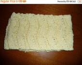 On Sale Lovely Yellow Hand Knitted Headband