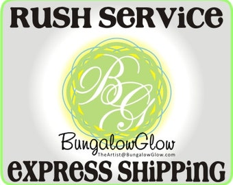 RUSH service for Cake Topper with Express Shipping
