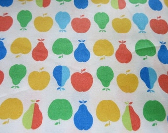 Half Yard - Winter Apples and Pears - Japanese Cotton Fabric