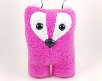 Fox Nubbin - Magenta Pink - Made To Order