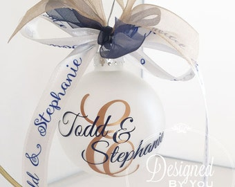 Personalized Last Initial Ornament