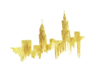 NYC in Gold