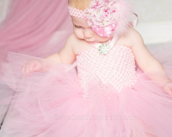 SALE Solid Light Pink Baby Tutu Dress,Baby Girl Tutu,Pink Baby Tutu,Infant Girl Tutu Dress,Baby Shower Gift, Newborn Baby Gift,Newborn Tutu