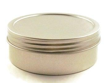 Round Metal Tins Set of 24