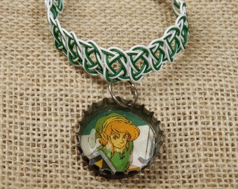 Link bottle cap bracelet