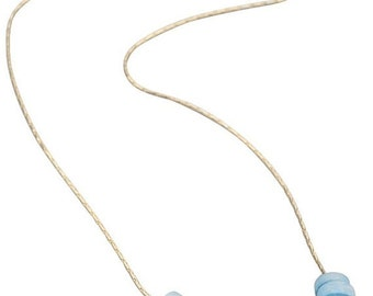 15% Discount Turquoise Disks Necklace