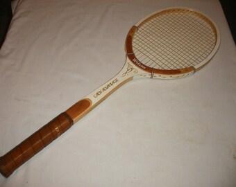 "Vintage Lady Advantage Light 4 1/2"" Wilson Wooden Tennis Racquet (Court)"