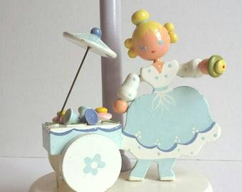 Vintage Irmi Nursery Lamp - Mary Quite Contrary -  Rare - Vintage Irmi - Vintage Nursery - Vintage Baby Lamp - Midcentury Nursery