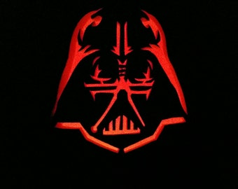 """Darth Vader 13"""" foam pumpkin"""