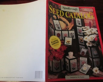 Flower Plastic Canvas Patterns Seed Catalog The Needlecraft Shop 90PH15 Floral Plastic Canvas Leaflet