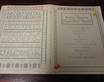 Counted Cross Stitch The Irving Munson Alphabet Book Jean Farish Needleworks Book 5 Lealfet
