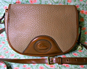 Dooney & Bourkey Leather Cross Body / Shoulder Bag