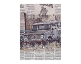 Scout No.1 art print
