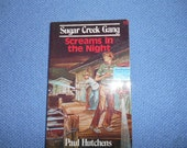 1967 Sugar Creek Gang Screams in the Night book #10 by Paul Hutchens