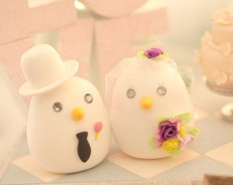 love birds Wedding Cake Topper (K364)