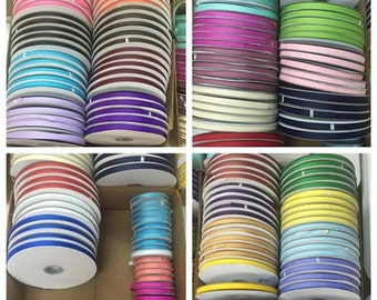 "20 rolls of 3/8"" x 25 yards Grosgrain  - Only  2.00 a roll"