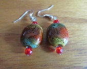 colorful clay beads