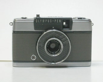 Vintage Olympus Pen-EE  1/2 Frame 35mm Camera 1961  For Display