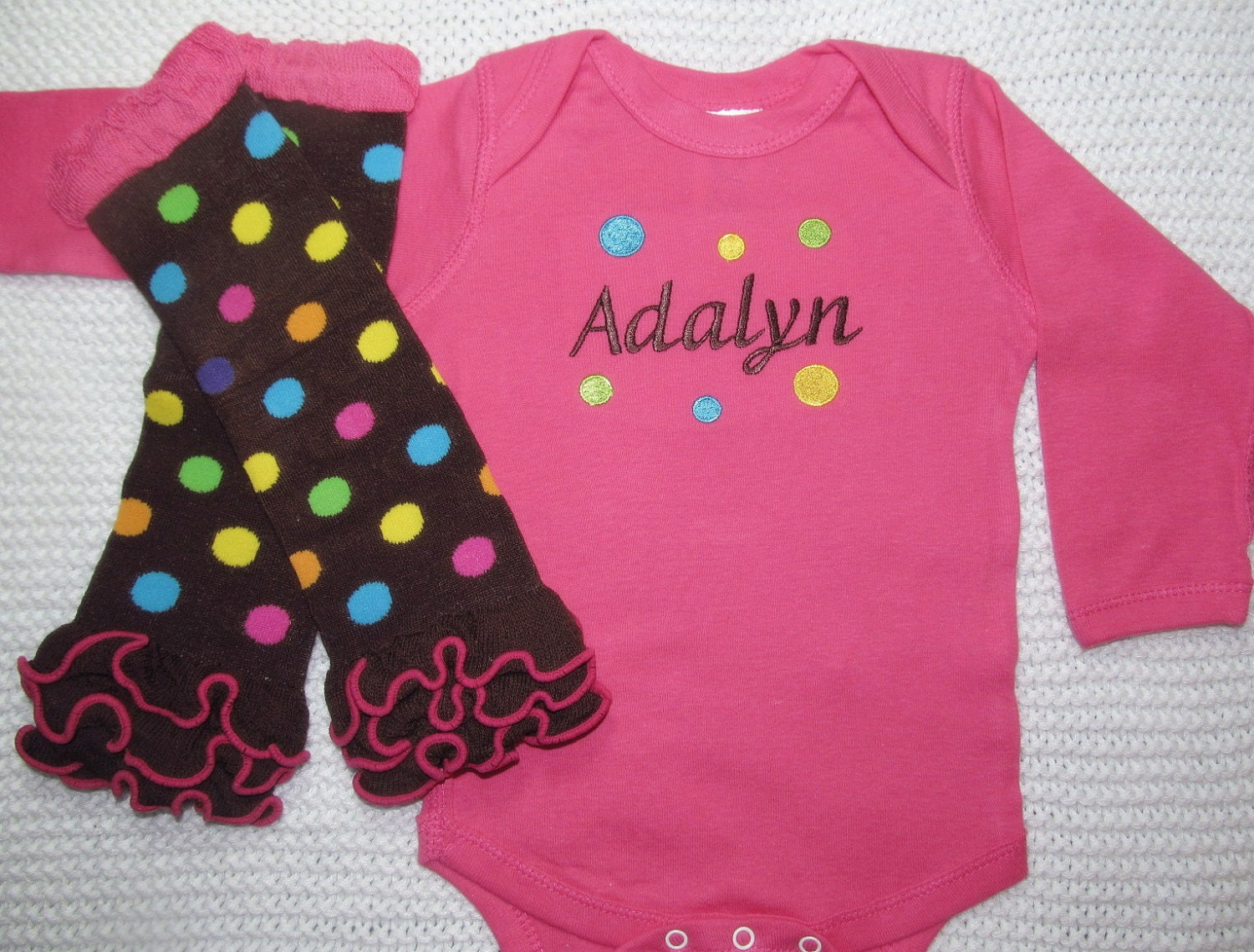 Custom Embroidered Baby Clothes