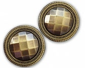 Magnet Button GOLD Antique II For Sweaters & Scarves