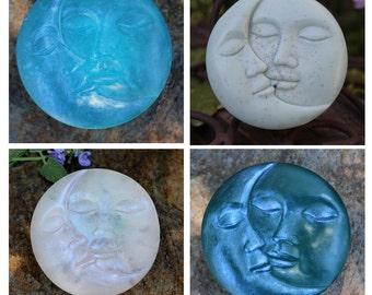 SALE Moon soap - color prototypes & experiments on sale!