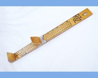 Ritz Foot Measure Vintage
