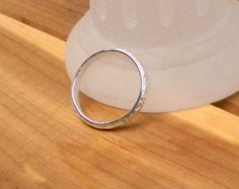 Sterling Silver Pattern Wire Ring