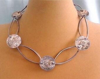 Vintage Silver Delphine Nardin Necklace