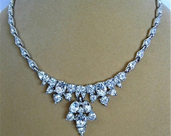 Vintage BOGOFF Crystal Necklace