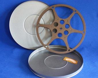 Vintage Compco Film Reel Canister