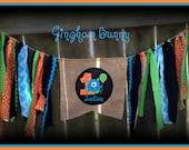 RUSH, CUSTOM ORDER for Ilovejohn79,  Monster Banner,  by Gingham Bunny