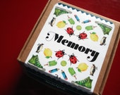 Vintage inspired card game - Memory