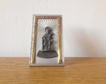 FOUND IN SPAIN -- Religious imagery - Santiago