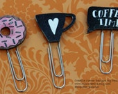 It is coffee time planner clips