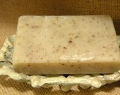 ON SALE  -  Lavender Soap   -   All Natural Soap   -  Lightly Scented   - Gently Exfoliating  - Cold Process Soap