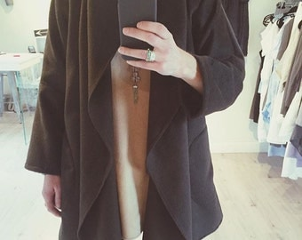 Alpaca Swing Coat