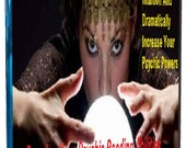 Develop Your Psychic Reading Abilities, Psychic Powers Hypnosis Meditation CD or Mp3